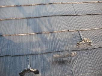 コロニアル屋根、下塗り