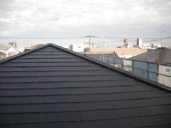 アパート屋根塗装後