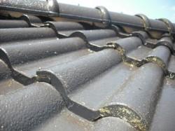 屋根塗装の施工前です