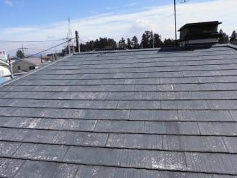 高圧洗浄後の屋根です。