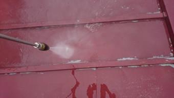 宇都宮市M様、屋根洗浄
