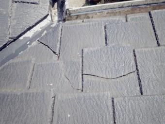 宇都宮市エスロン、スレート屋根