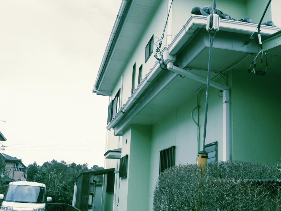 真子町、雨樋、火災保険