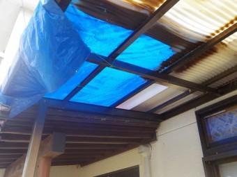 真岡市k様、テラス屋根