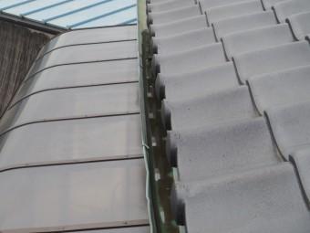 芳賀町O様邸テラスの上の軒樋
