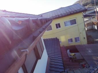 那須烏山市H様西面2階部分軒樋