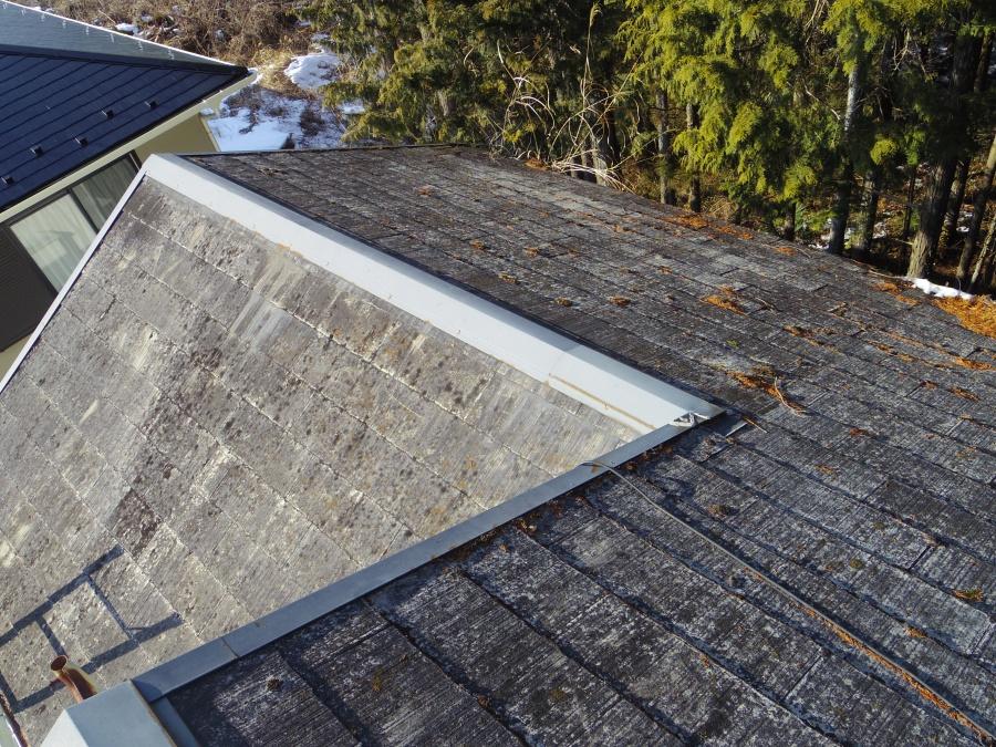 現調前の屋根の状態です