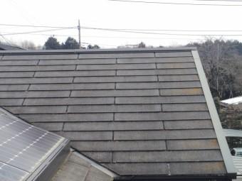 コロニアル屋根の状態です