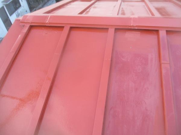 錆止め塗装の施工前後です