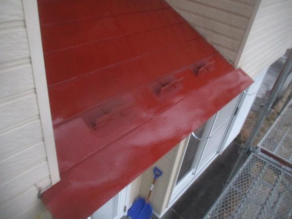 1階のさび止め塗装が終了しました