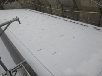 ドーム型屋根のさび止め塗装が終了しました