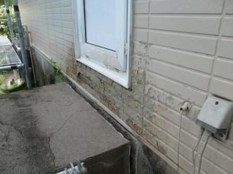 雨水や雪による被害個所です