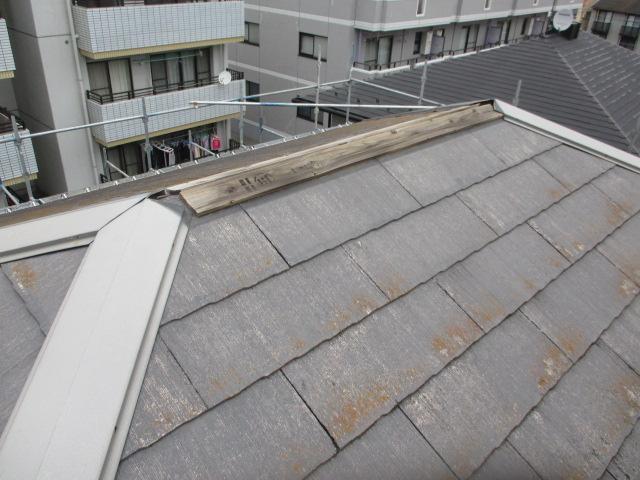 台風被害箇所です