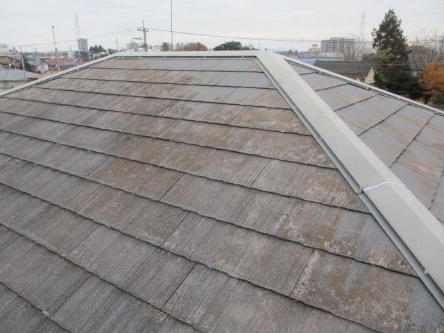 施工後の屋根の状態です