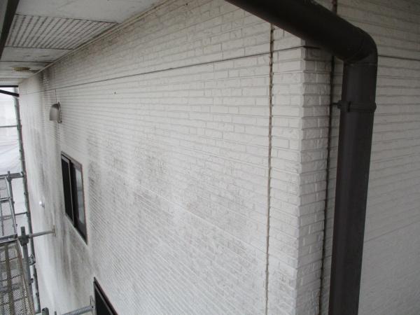 施工前の2階外壁の状態です