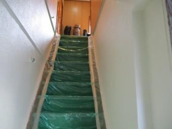 室内の上塗り終了です