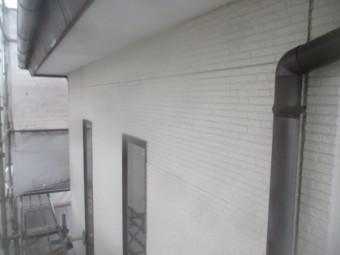 2階外壁の施工後の状態です