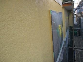2階部分の中塗りが終了しました