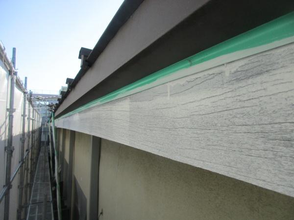 木部の下塗り塗装が終了しました