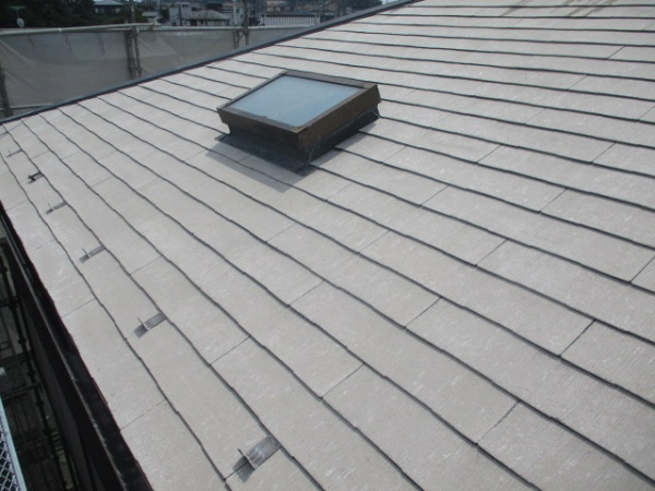 屋根の高圧洗浄が終了しました