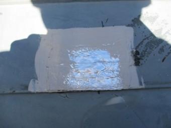 屋根の補修をしました