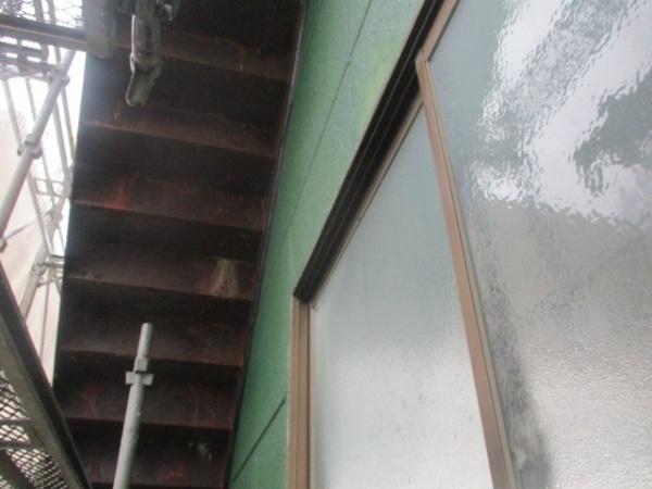 外壁の高圧洗浄が終了しました