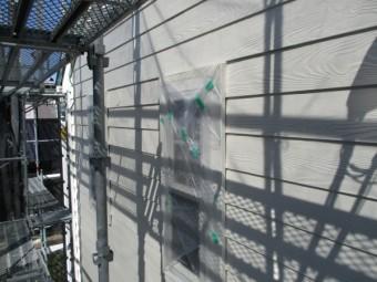 1階の上塗りが終了しました
