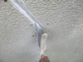 モルタル接着強化材を塗布しました