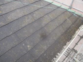 屋根の軒先の状態です