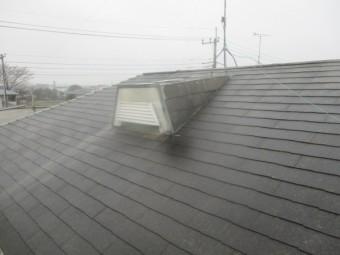 屋根のドーマの状態です