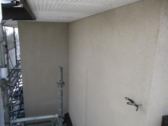 洗浄後の2階外壁の状態です