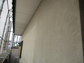 洗浄後の1階外壁の状態です