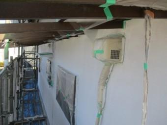 1階のフィラー塗装が終了しました