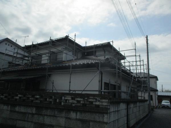 施工前の全景です