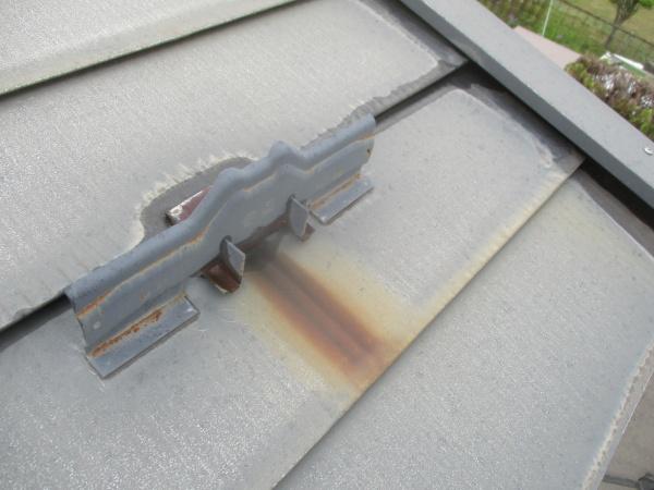 施工前の屋根の状態で