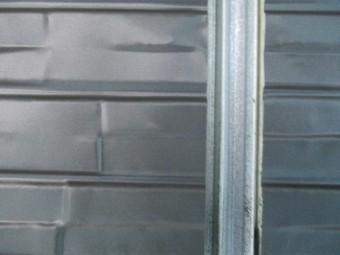 外壁材を取り付けました