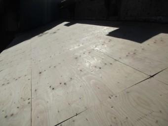 野地板の取り付けが終了しました