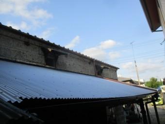 完工後の屋根の状態です