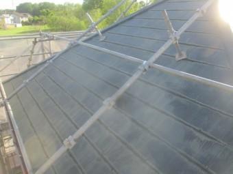 屋根洗浄後の状態です