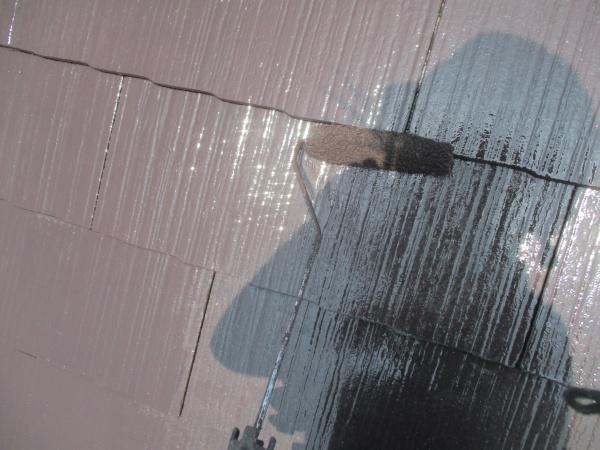 宇都宮市で棟板金、ドーマ補修、スレート屋根塗装工事が完工です