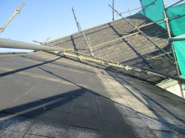 屋根の洗浄が終了しました