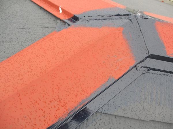 屋根塗装の施工後の状態です