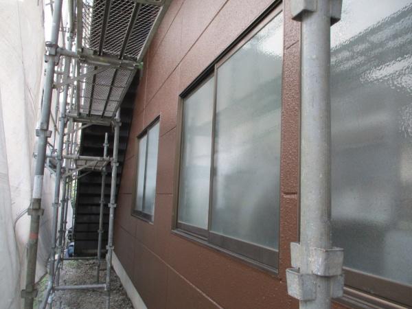 1階外壁塗装の完工です