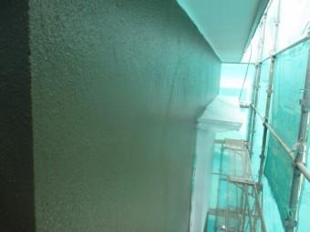 南と西面の外壁塗装が終了しました