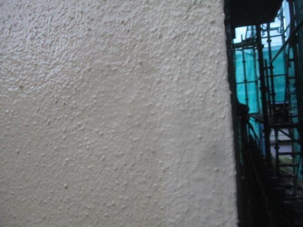 補修終了後の外壁の状態です