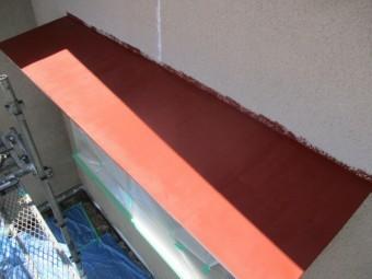 板金の錆止め塗装が終了しました