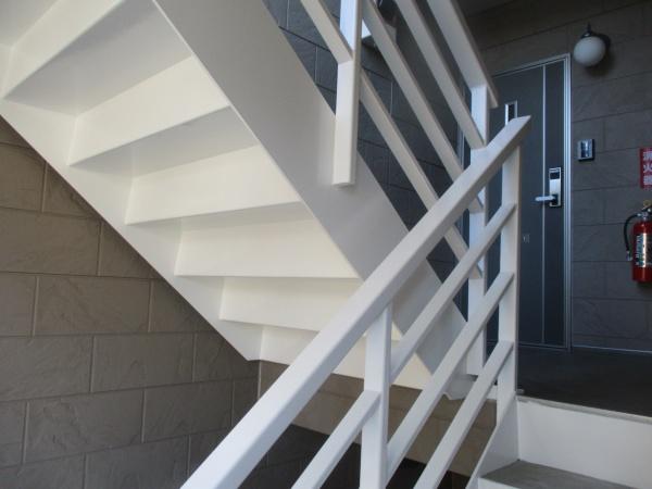 階段手摺の完工です