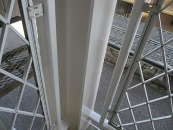 H鋼柱の完工です