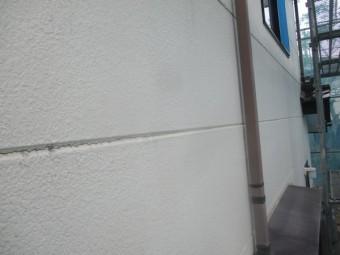 洗浄後の外壁の状態です