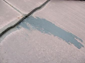 補修後のコロニアル屋根の状態です
